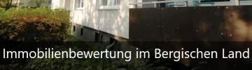 Immobilienbewertung im Bergisches Land